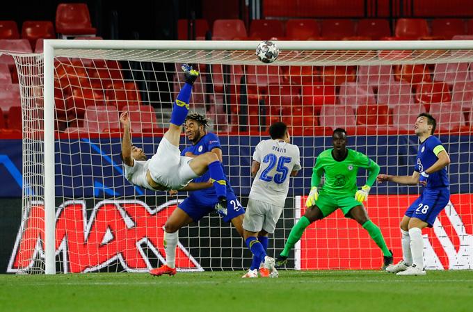 Taremi ghi bàn mở tỷ số trận Chelsea vs Porto ở phút 90'+4 nhưng là không đủ để giúp đội bóng Bồ Đào Nha đi tiếp