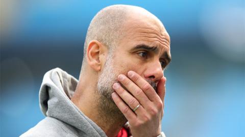 Guardiola thừa nhận ông sẽ bị coi là kẻ thất bại nếu Man City vẫn không vô địch Champions League