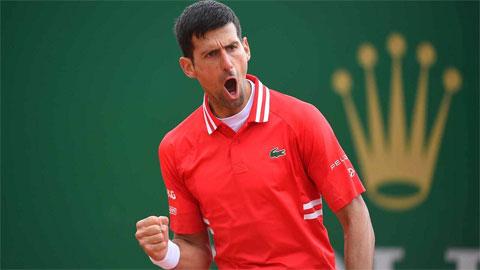 Djokovic, Nadal cùng thắng trận đầu Monte Carlo Masters 2021