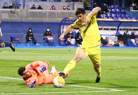 Trên sân nhà, Villarreal (phải) sẽ không khó đánh bại đối thủ dưới cơ Dinamo Zagreb