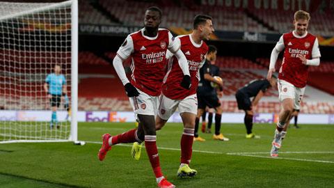 Trận lượt về trên sân của Slavia Prague sẽ rất khó khăn, nhưng Arsenal sẽ giành vé đi tiếp