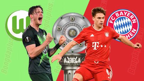Nhận định bóng đá Wolfsburg vs Bayern, 20h30 ngày 17/4: Bắt nạt đối thủ quen