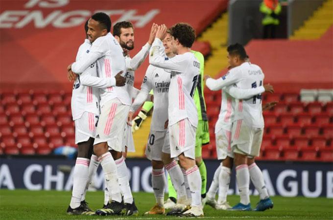 Real đã bảo vệ được thành quả có được từ trận lượt đi