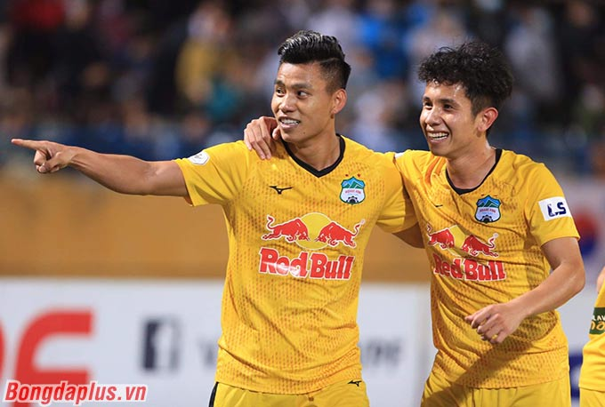 HAGL cần thắng Hà Nội FC để khẳng định bản lĩnh và sự trưởng thành - Ảnh: Phan Tùng