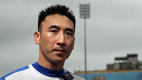 Hải Huy: 'Cầu thủ Than Quảng Ninh đã thoải mái hơn'