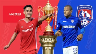 19h15 ngày 16/4: Viettel vs Than Quảng Ninh