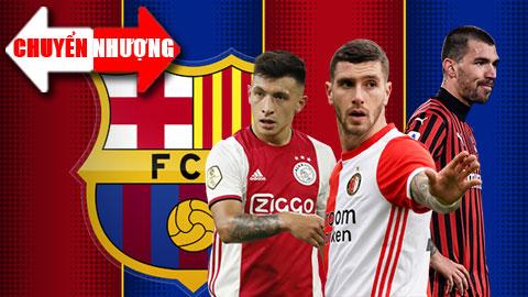 Tin chuyển nhượng 15/4: Barcelona nhắm 3 mục tiêu cho vị trí trung vệ