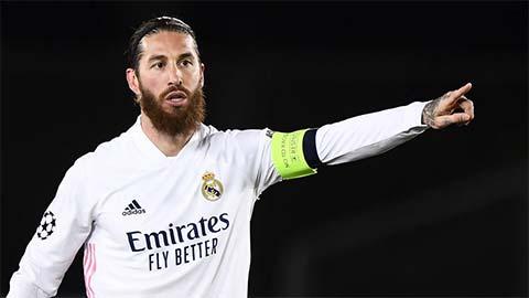 Ramos đã tạm biệt đồng đội tại Real