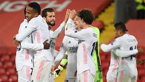 Real Madrid vào bán kết Champions League 9 lần trong 11 mùa