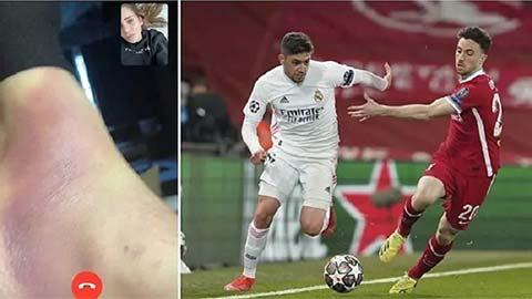 Chấn thương của Valverde