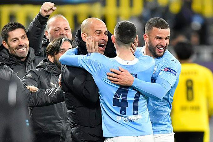 Man City lần đầu vào bán kết Champions League dưới thời Pep Guardiola