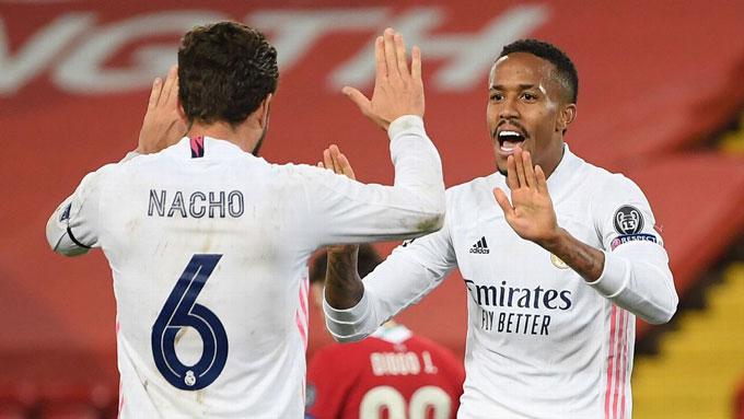 Nacho và Militao hoàn thành xuất sắc nhiệm vụ thay thế Ramos và Varane