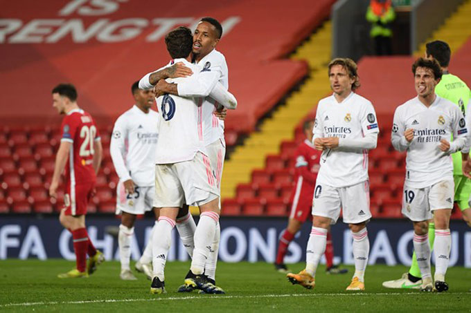 Real thể hiện bản lĩnh của đội từng 13 lần vô địch Cúp C1/Champions League