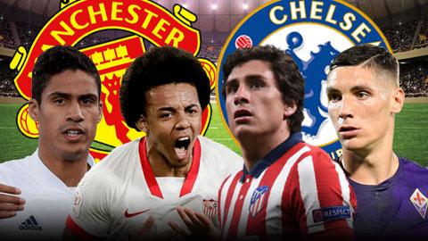 Varane, Kounde, Milenkovic, Gimenez: Trung vệ nào phù hợp với MU và Chelsea?