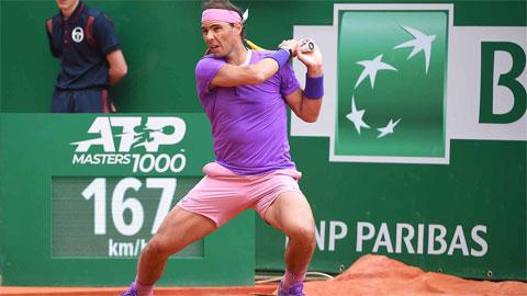 Nadal 'hủy diệt' bồ cũ Sharapova, vào tứ kết Monte Carlo Masters 2021