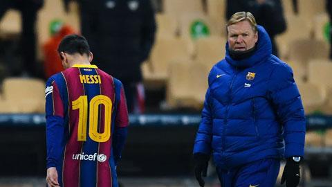 Đang có rất nhiều vấn đề đợi Ronald Koeman giải quyết tại Barca