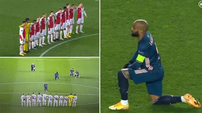 Laccazette quỳ gối trước Slavia Praha