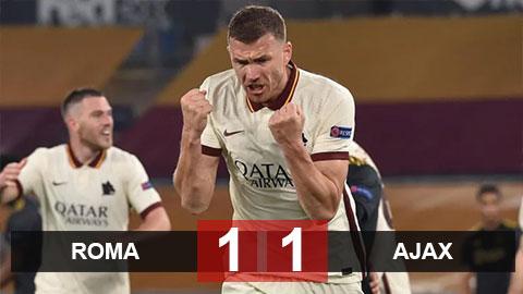 AS Roma 1-1 Ajax (chung cuộc 3-2): Chủ nhà hẹn MU ở bán kết