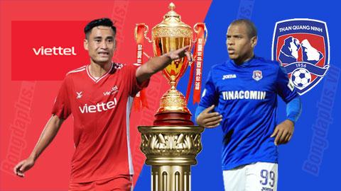 Trực tiếp Viettel vs Than Quảng Ninh, 19h15 ngày 16/4