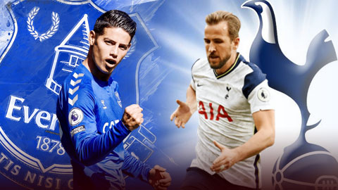 Everton vs Tottenham: Cái khó của những đội bóng một người