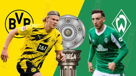 Nhận định bóng đá Dortmund vs Bremen, 20h30 ngày 18/4
