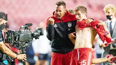 Mueller và đồng đội sẽ lại được ăn mừng chiến thắng trước Wolfsburg