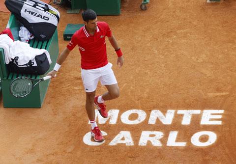 Djokovic thừa nhận đã có một ngày thi đấu tệ hại tại vòng 3 Monte Carlo Masters