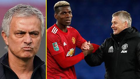 Mourinho dửng dưng trước lời mỉa mai của trò cũ Pogba