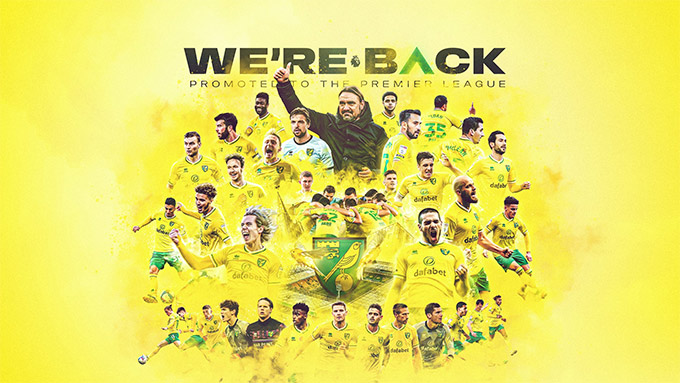 Norwich trở lại Ngoại hạng Anh sau một mùa vắng bóng
