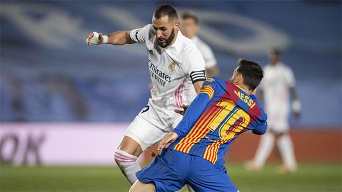 Barca 2 lần để thua Real ở La Liga mùa này