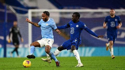Trực tiếp Chelsea vs Man City, 23h30 ngày 17/4