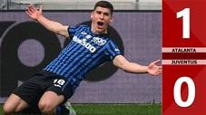 Atalanta 1-0 Juventus: Vắng Ronaldo, Juventus để Atalanta chiếm vị trí thứ 3 trên BXH