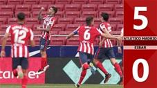 Atletico Madrid vs Eibar: 5-0 (Vòng 33 La Liga 2020/21)