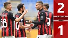 AC Milan vs Genoa: 2-1 (Vòng 31 Serie A 2020/21)
