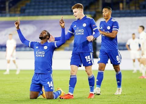 Leicester sẽ lại có dịp được ăn mừng bàn thắng trước Southampton