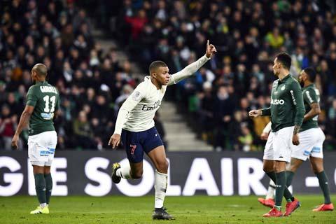 Mbappe và đồng đội sẽ một lần nữa đánh bại St Etienne trên sân nhà