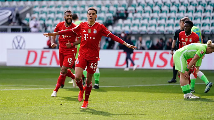 Musiala liên tục thiết lập kỷ lục tại Bayern