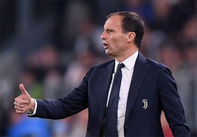 HLV Allegri chưa trở lại làm việc sau khi rời Juventus