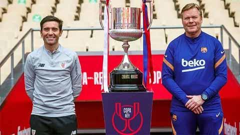 Điểm nhấn Barca 4-0 Bilbao: Danh hiệu đầu tiên cùng Koeman