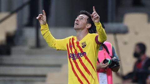 Messi thực hiện pha ghi bàn siêu cấp tái hiện những năm tháng đỉnh cao