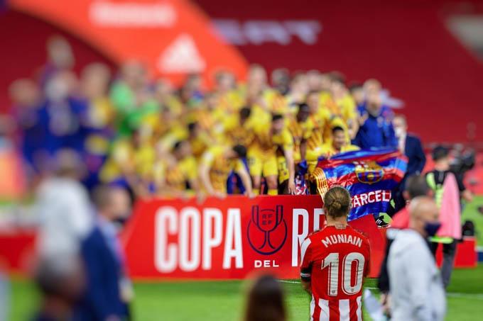 Bilbao thua cả 2 trận chung kết cúp Nhà vua gần nhất