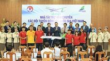 Đội tuyển Việt Nam có nhà tài trợ vận chuyển trong 3 năm