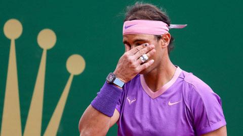 Rafael Nadal  bị loại tại giải Monte Carlo: Vua sắp băng hà?