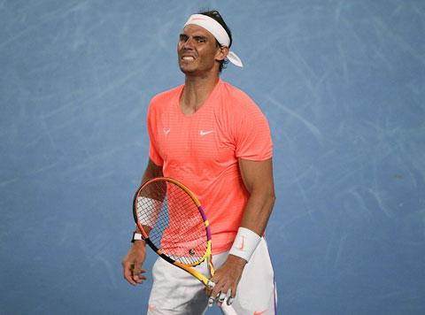 Rafael Nadal vừa thua Rublev ở vòng tứ kết Monte Carlo 2021