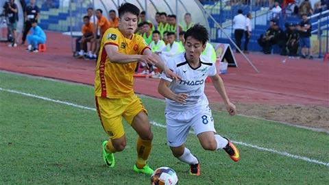 """Độc chiêu chống """"vỡ sân"""", Thanh Hóa thu tiền vé trận gặp HAGL làm từ thiện"""