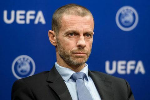 Chủ tịch UEFA, Ceferin, chính thức lên tiếng đe dọa các CLB và cầu thủ dự Super League