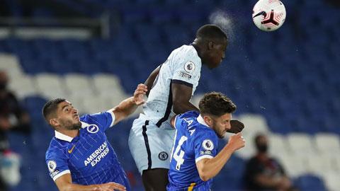 Đang hưng phấn, Chelsea (áo sáng) sẽ đánh bại Brighton để trở lại Top 4