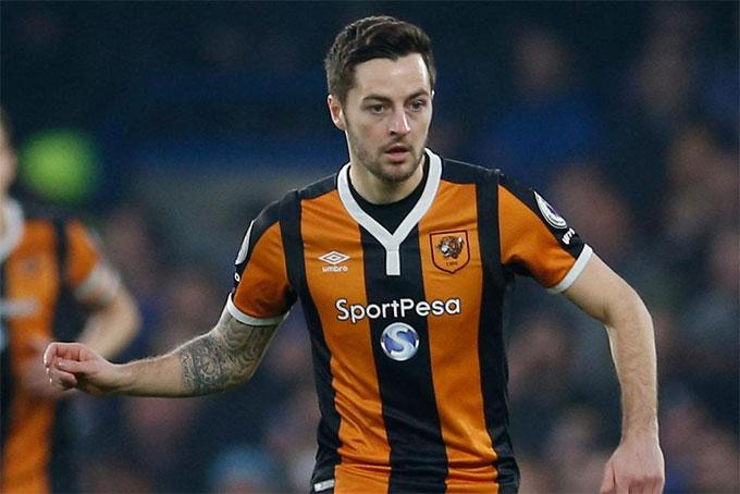 Mason hồi còn đá cho Hull City