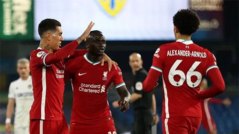 Điểm nhấn Leeds Utd 1-1 Liverpool: Mane 'thông nòng', The Kop siêu hào phóng