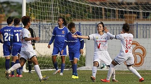 Giải bóng đá Nữ Cúp Quốc gia 2021: Hà Nội I Watabe thắng vất vả